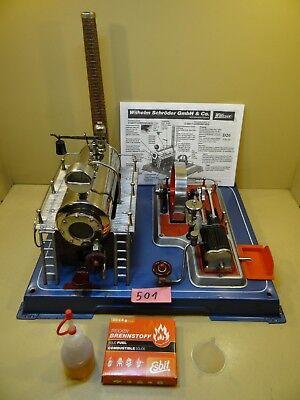 Dampfmaschine Wilesco D20 mit Zubehör / Anfang 70 Jahre / Selten.