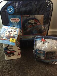 Thomas and friends comforter, bedding, decals