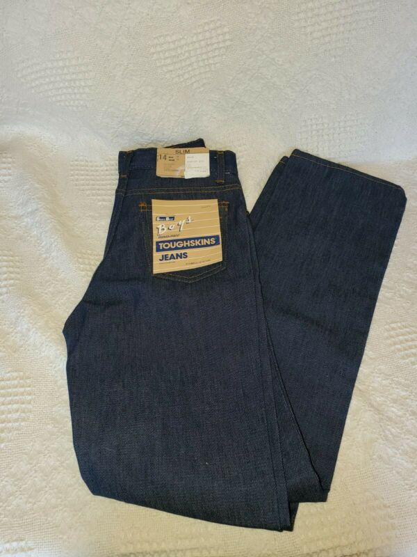 VINTAGE SEARS TOUGHSKINS BOYS JEANS, SLIM.