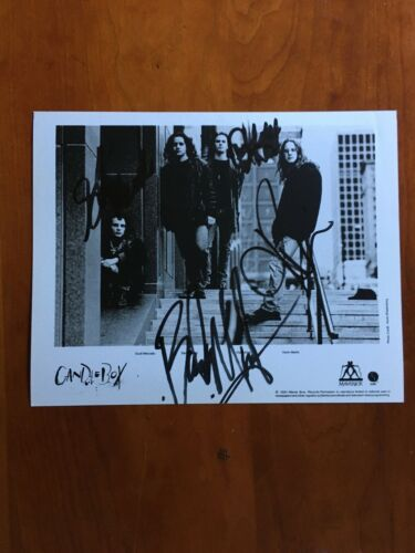 CANDLEBOX     HAND SIGNED   8x10          Guaranteed authentic            RARE!