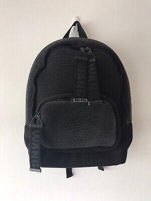 Alexander Wang H&M Black Mesh Backpack Bag