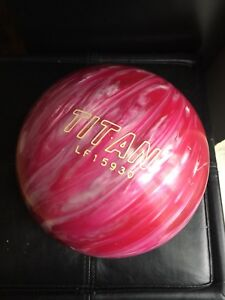 Pink New Titian Bowling Ball
