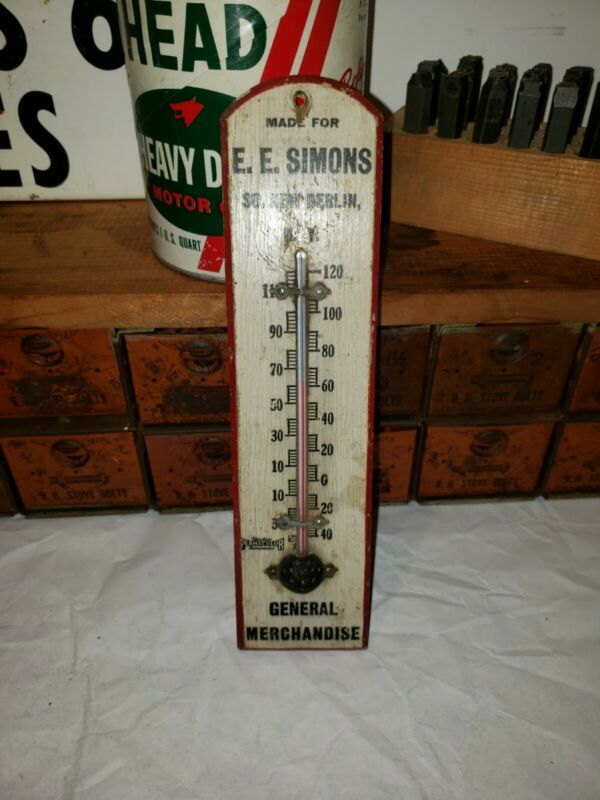 E.E Simons General Store Thermometer