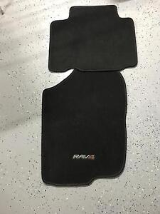 Set of Genuine  Toyota Rav 4 embroidered mats in excellent condition. Maroochydore Maroochydore Area Preview