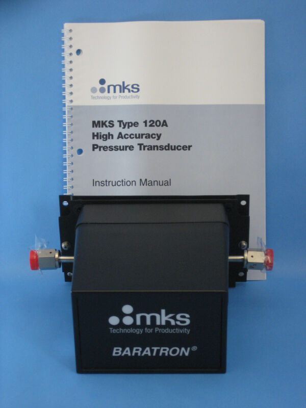Mks Baratron  120ad-00001rcu High Accuracy Pressure Transducer,  New