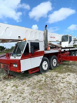 1989 Link-belt 70 Ton Htc-1170 Hydraulic Truck Crane 120ft Main Boom Excellent