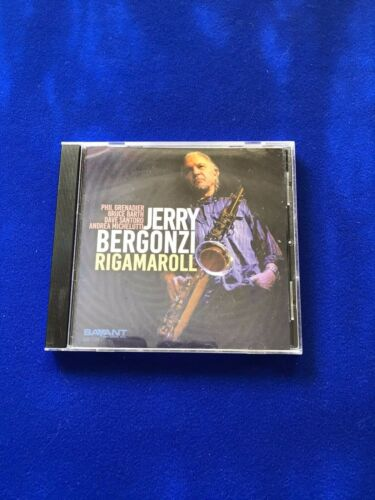 NEW+Jerry+Bergonzi+Rigamaroll+Jazz+CD+Promo+Copy+2015+Savant+SCD+2149