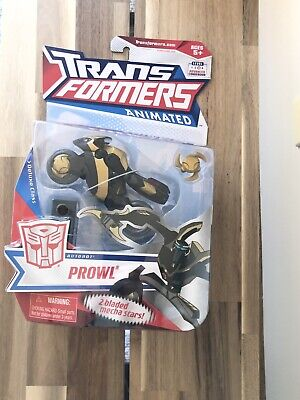 Hasbro Transformers Animated Deluxe - Autobot Prowl MOSC NEW
