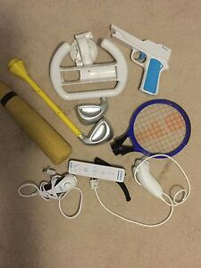 Wii remote and accessories!