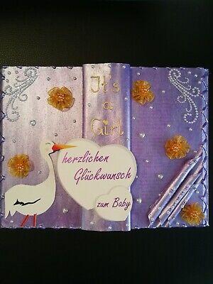 Unikat/Dekobuch/Geschenkbuch/Geschenk zur Geburt oder Taufe