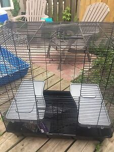 Large cage for rodent or bird