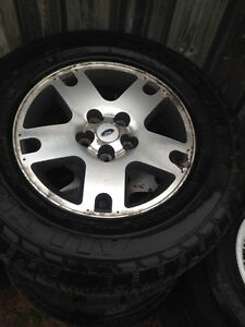 4 Ford Escape rims and tires