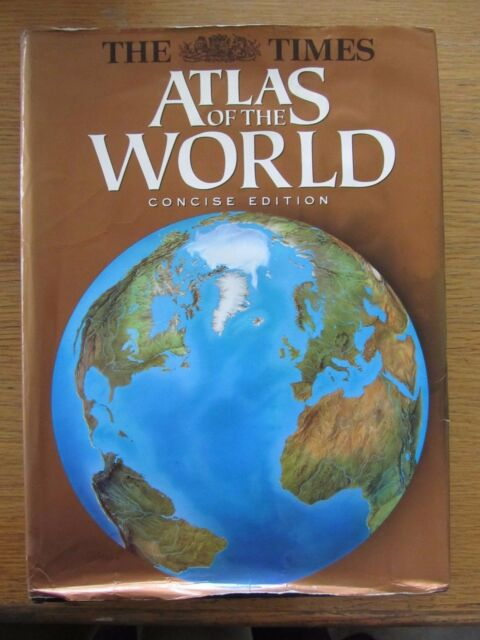 THE TIMES ATLAS OF THE WORLD CONCISE EDITION PUBLISHED 1996 HARDBACK
