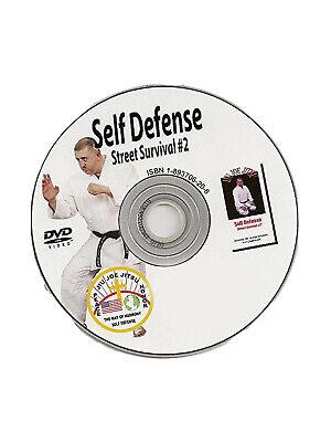 martial arts instructional dvd self defense jujitsu karate judo mma dvd SD2