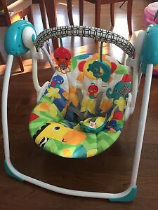 Compact Baby Swing