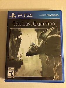 PS4 The Last Guardian video game