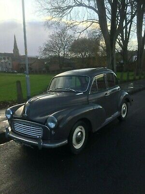 Morris minor 1961 classic car ready to use great investment
