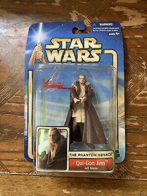Star Wars Attack of The Clones - Qui-Gon Jinn (Jedi Master) Action Figure