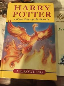 Harry Potter and the order of Phenix - First edition