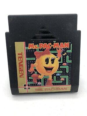 Ms. Pac-Man Tengen NES Game