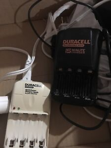 Duracell quick chargers