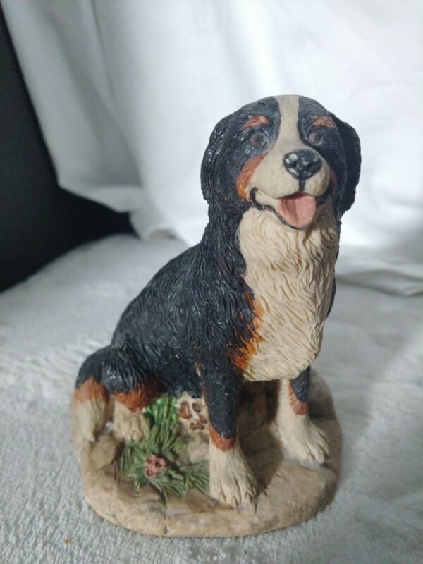 Vintage 1984 Earl Sherwan BERNESE MOUNTAIN DOG Figure Vintage USA