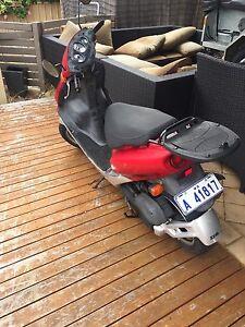 50cc SYM Red Devil scooter Ballajura Swan Area Preview