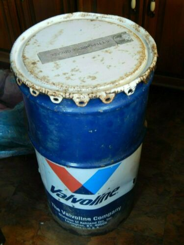 Valvoline ~ Ashland Oil [Lexington, KY_USA] Multi Purpose Grease STEEL DRUM CAN