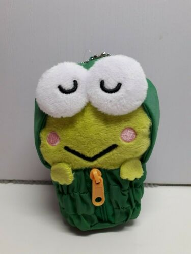 Sanrio Keroppi In Sleeping Bag Plush Key chain
