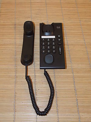 Cisco CP-6901-CL-K9 Unified IP Phone 6901 Charcoal, Slimline Handset Cisco 6901 Ip Phone