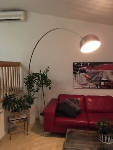 "Lampe ""Arco"" stainless"