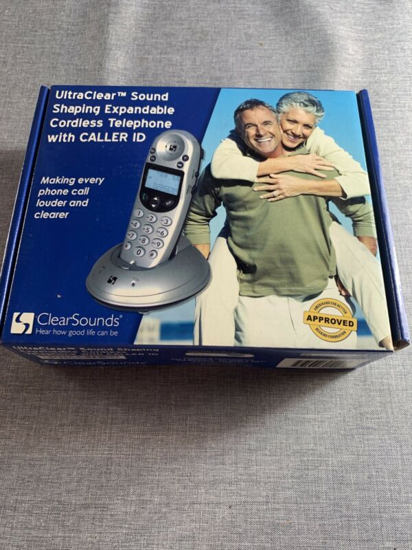 New ClearSounds A50 Ultra Clear Sound Shapng Expandable Phone With Caller ID