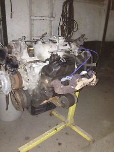 318 motor with tranny and transfer case