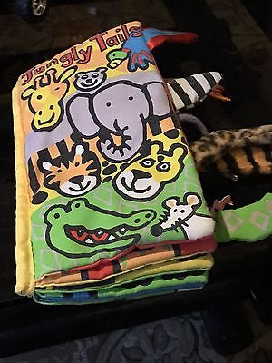 Jungly Tails Cloth Book