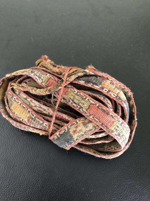 Pre Columbian Chavin/Moche Belt/Band/Belt Textile beautiful!