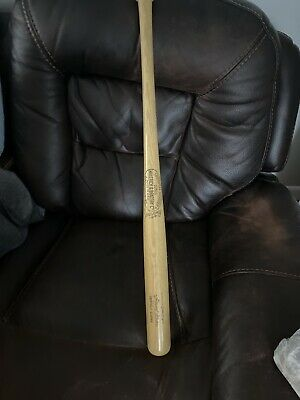 "VINTAGE LOUISVILLE SLUGGER 125LL Wood 28"" Little League HANK Henry Aaron Bat"