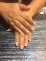 Pose d'ongle  25$