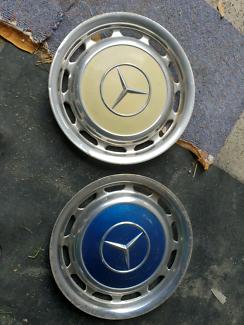 X2 Mercedes Benz hub caps. 14inch. Vintage New Lambton Newcastle Area Preview