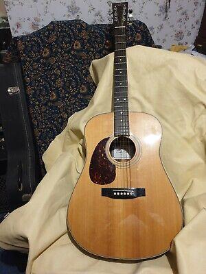 Left hand Sigma DR2 L/H Guitar 1980/90s & hard case