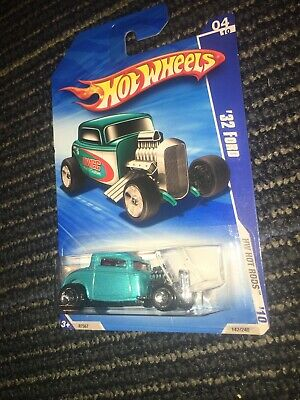 HOT WHEELS 2010 HOT ROD 1932 32 FORD TAMPO ERROR VARIATION CHASE