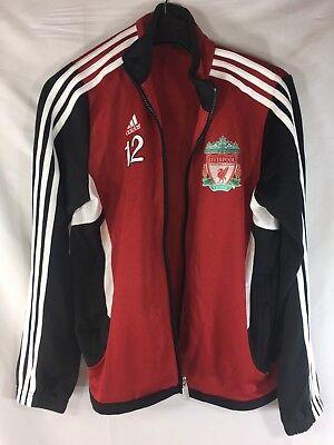 9afff8fee Adidas Liverpool Football Club Official Soccer Red Black Youth Medium Jacket