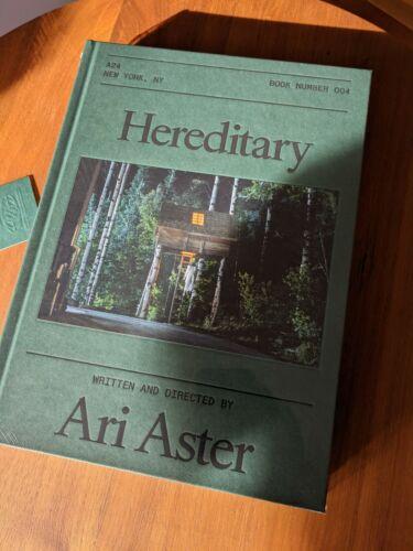 HEREDITARY SCREENPLAY - HARDCOVER, SEALED