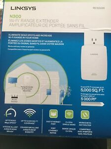 Mint condition Linksys RE3000W wifi extender
