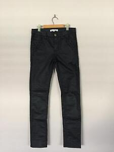 Witchery Girls Faux Leather Pants - Size 12 Greenway Tuggeranong Preview