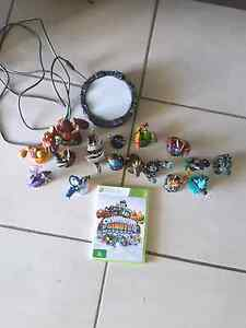 Xbox 360 skylanders game with 16 characters Albany Creek Brisbane North East Preview