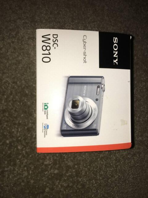 NEW - Sony Cybershot DSC-W810 Digital Still Camera 20.1 MP   Digital  Compact Cameras   Gumtree Australia Boroondara Area - Balwyn North    1186239165 d4ad1b0eb2f3