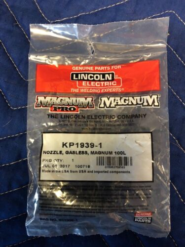 LINCOLN ELECTRIC KP1939-1 NOZZLE, GASLESS, MAGNUM 100L