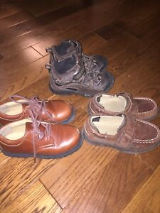Boys Sperry and Striderite Shoes Sz 10.5