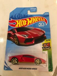 Hot wheels lambo aventador Miura homage