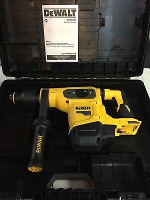 Dewalt Dch481b 60 Volt Flex Volt Rotary Hammer 1 916 Sds Max New W Hard Case